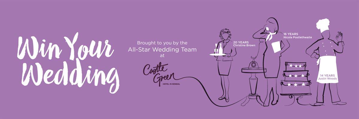 Win Your Wedding Castle Green Hotel In Kendal